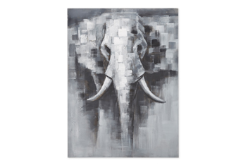 Hand Painted Elephant Canvas