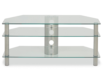 Glass Corner TV Unit