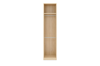 0.5M Single Wardrobe Frame