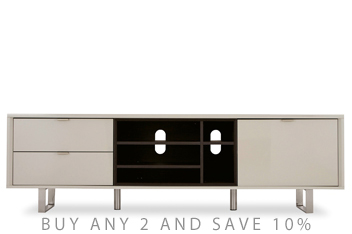 Logan Taupe Super Wide TV Unit