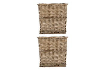 Set Of 2 Willow Cubes