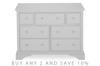 Marielle Grey Wide Chest
