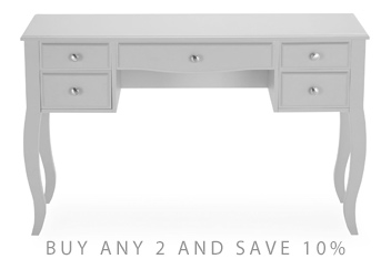 Marielle Grey Dressing Table