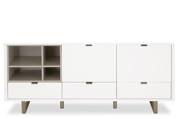 Logan White Large Sideboard