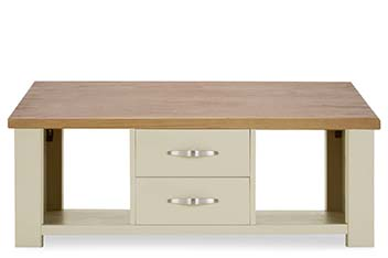 Hartford® Painted 2 Drawer Coffee Table