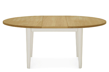 Buxton 4-6 Seater Oval Extending Dining Table