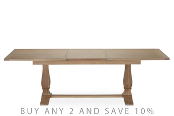 Hardwick 6-10 Seater Extending Dining Table