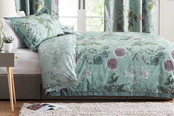 Cotton Sateen Wild Hedgerow Bed Set
