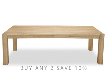 Madsen Double Extending Dining Table