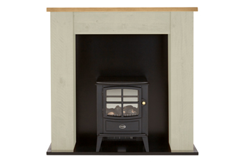 Kendall Painted Stove Suite With Brayford Engine By Dimplex