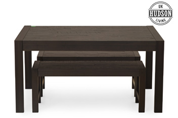 Hudson Dark Bench Set
