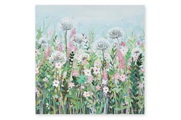Janet Bell Floral Canvas