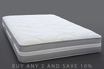 1000 Pocket Gel Infused Latex Medium Mattress