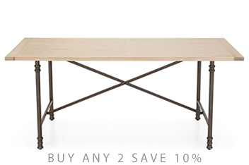 Hardwick Metal Dining Table