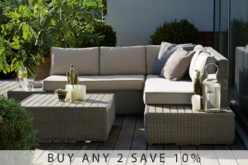 Bondi Corner Sofa Set