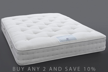 1500 Pocket Sprung Natural Medium Mattress