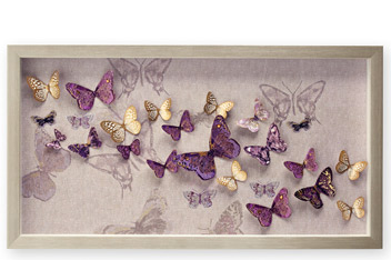 3D Butterflies Filled Frame