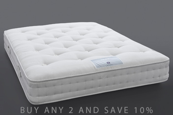 1500 Pocket Sprung Natural Firm Mattress