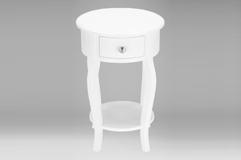 Marielle Round Bedside Table