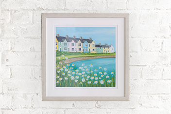 Seaside Cottages By Janet Bell
