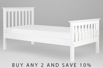White Juno Bed  sc 1 st  Next & Bunk Beds u0026 Cabin Beds | Childrens Beds | Next Official Site