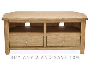 Huntingdon Corner TV Stand