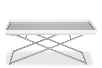 Osbourne White Tray Coffee Table