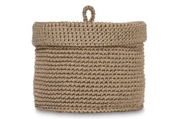 Small Knitted Basket