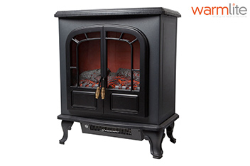 Warmlite Electric Fireplace Surround Two Door Heater