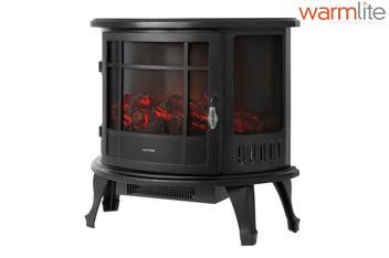 Warmlite Log Effect Stove Fire