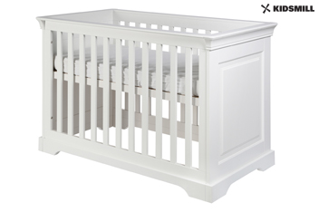 Marseille White Cot Bed By Kidsmill