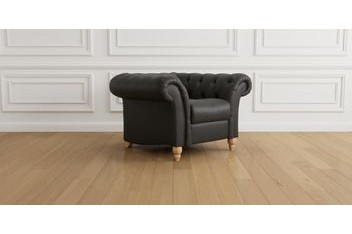 Gosford Buttoned Seat Leather