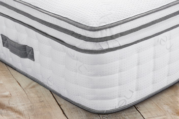 2000 Pocket Sprung Ultimate Box Top With Memory Foam Firm Mattress