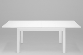 Valencia® White 6-10 Seater Extending Dining Table