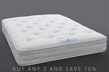1500 Pocket Sprung Natural Orthopaedic Mattress