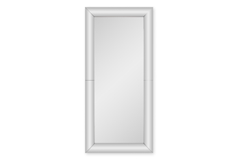 Curved Rectangle Floor Mirror
