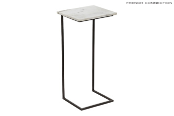 French Connection Marble Laptop Or Side Table