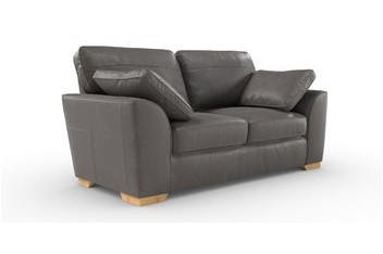 Buy Sofas French Grey Stamford Leather Leather Stamfordleather ...