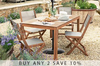 Sicily 4-6 Seater Dining Table