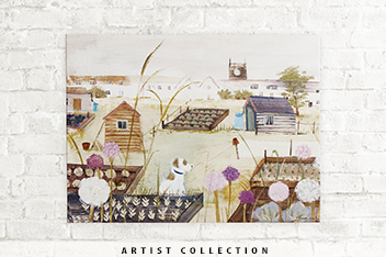 Artist Collection A Good Day For It Canvas By Hannah Cole
