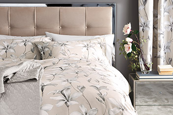 Cotton Sateen Magnolia Bed Set