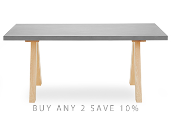 Brixton 6 Seater Dining Table