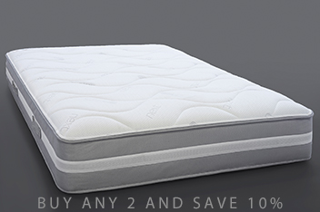 1000 Pocket Gel Infused Latex Firm Mattress