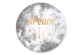 Dream Big Circle Canvas