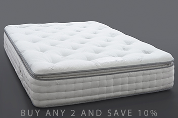 1500 Pocket Sprung Luxury Pillow Top Firm Mattress
