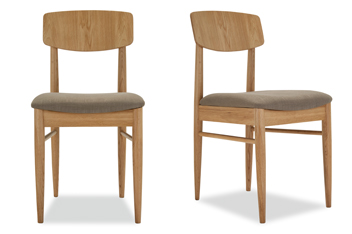 Set Of 2 Ercol Chesham Dining Chairs