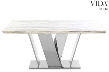 Zena  6 Seater Dining Table By Vida Living