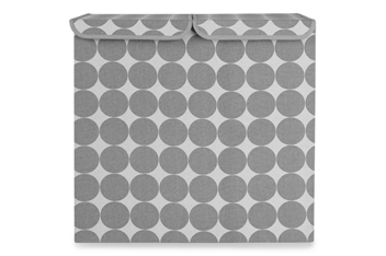XL Grey Dotty Storage Box