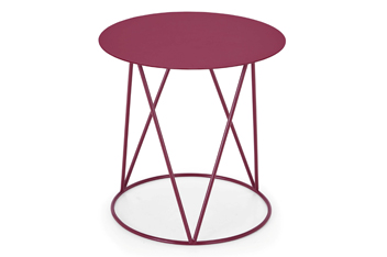 Cabernet Metal Side Table