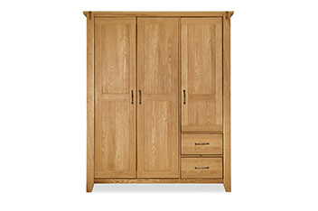 Clarendon Triple Wardrobe